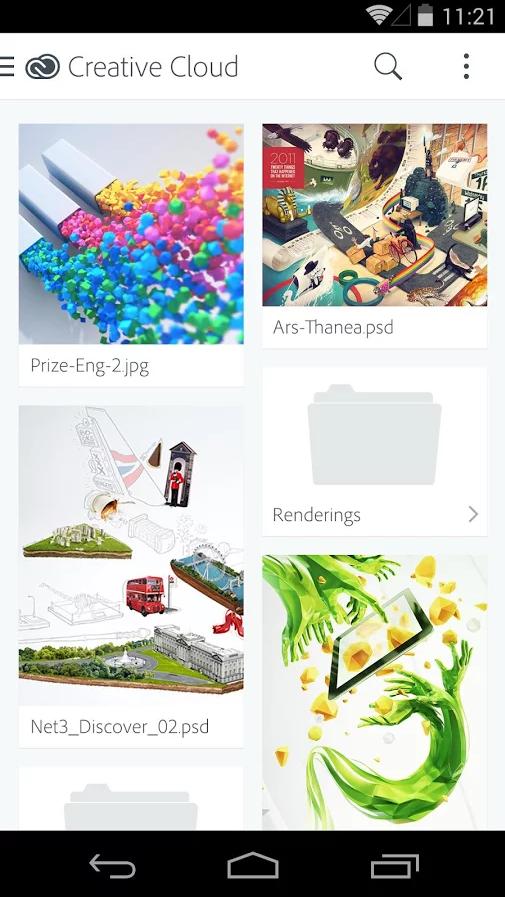 Grupo Ingenia » Adobe lanza Creative Cloud para Android