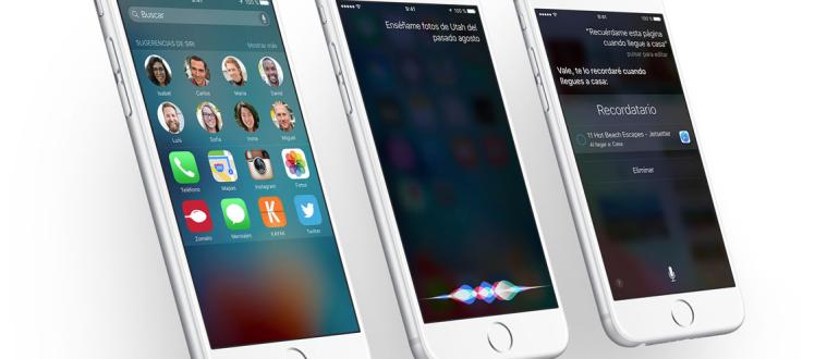 iPhones con iOS9