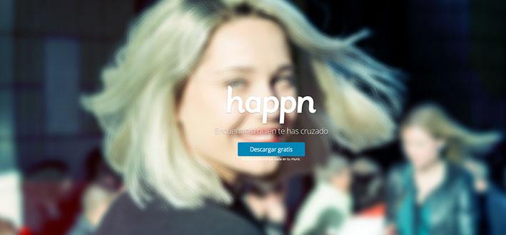 La aplicación Happn