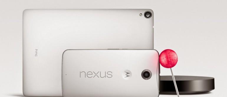 Nexus 6 y Nexus 9