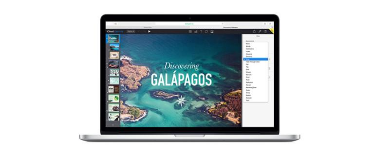 Keynote en Mac.