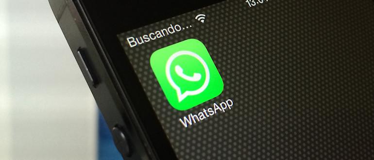 Whatsapp en el iPhone.